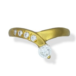 Ladies C/Z Ring