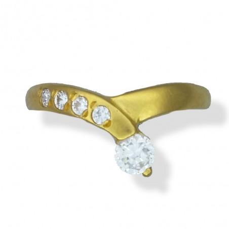 Ladies C/Z Ring