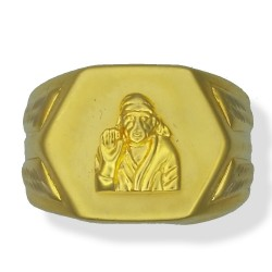 Gents Sai Baba Ring