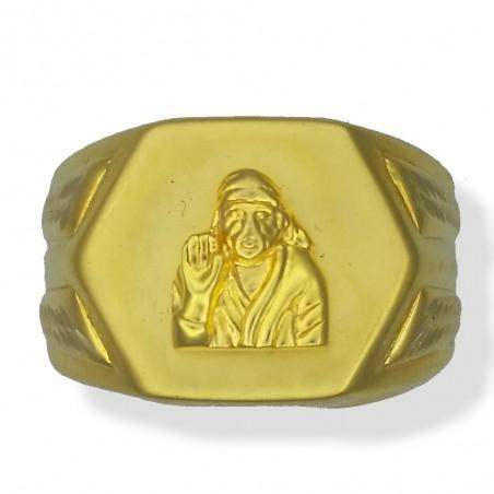 Gents Sai Baba Ring