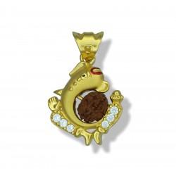 Ganesh with Rudraksh Pendant