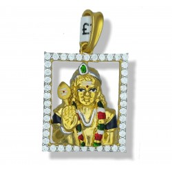 Colourful Shiva Pendant