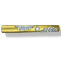 C/Z Tie Clip in 22ct Gold