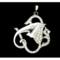 Aum and Ganesh Pendant