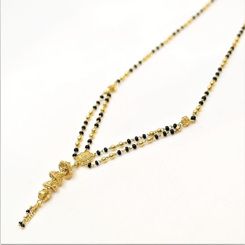 Double Chain Jumar Style Mangalsutra - 1