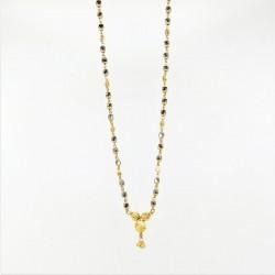 Simple Crystal Bead Mangalsutra - 2