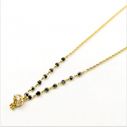 Short C/Z Drop Mangalsutra - 1