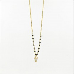 Short C/Z Drop Mangalsutra - 2