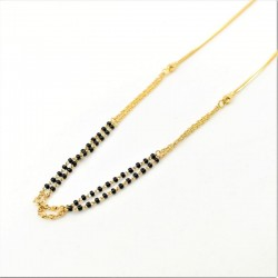 Simple Double Chain Mangalsutra - 1