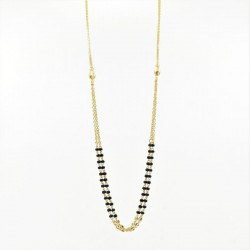 Simple Double Chain Mangalsutra - 2