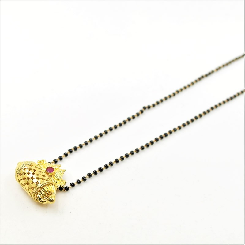 Mangalsutra Chain with a Locket - 1