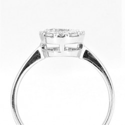 0.65ct Diamond Ring in 18ct White Gold