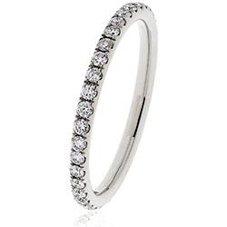 Diamond Split Claw Full Eternity Ring